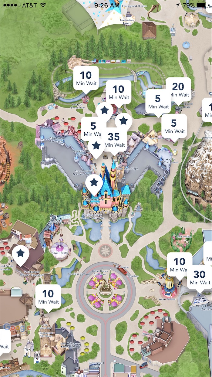 Disney;and app showing wait times Insider tips to disneyland