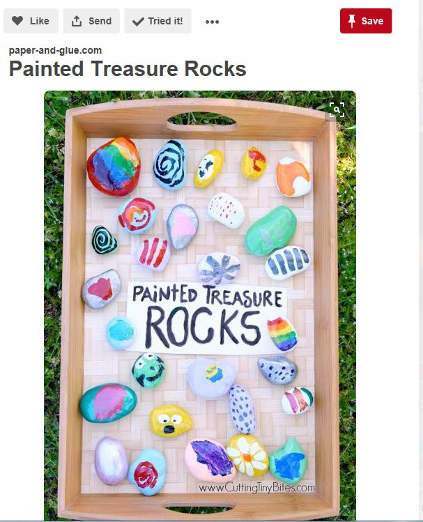 Go on pinterest for ideas on kids crafts for the summer