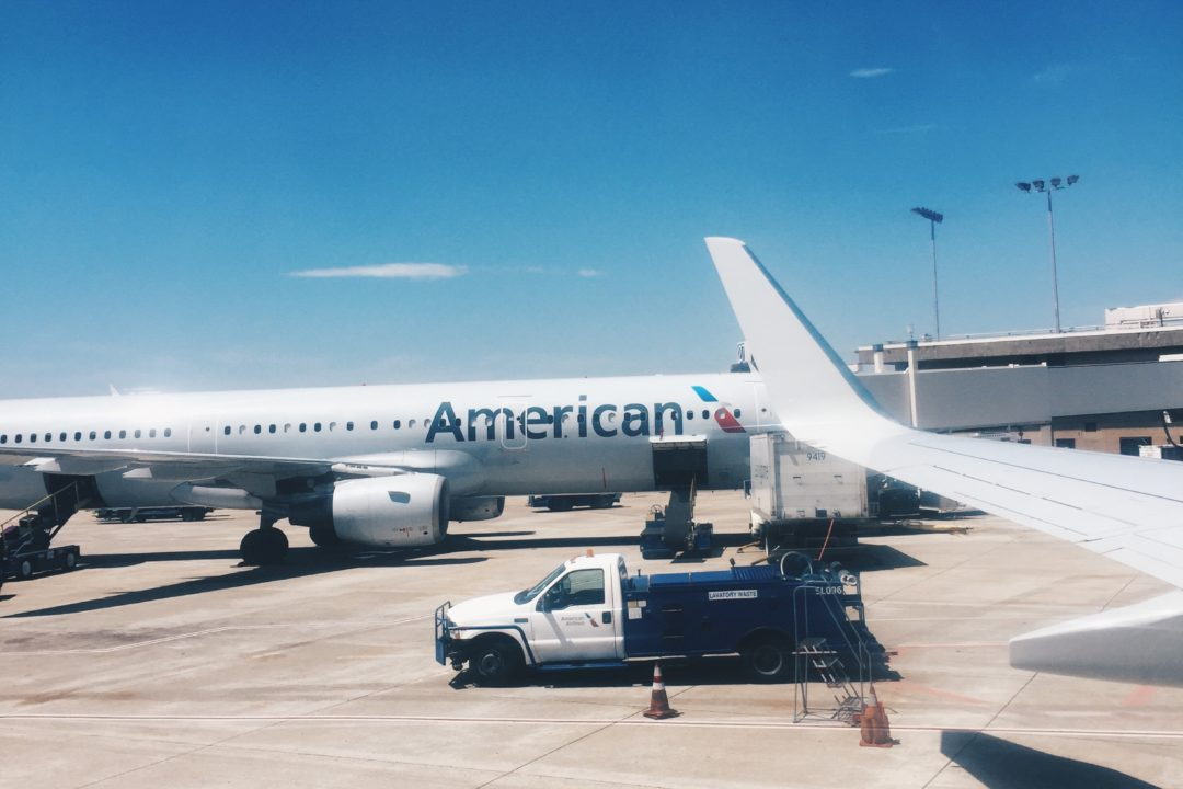 flying on american airlines