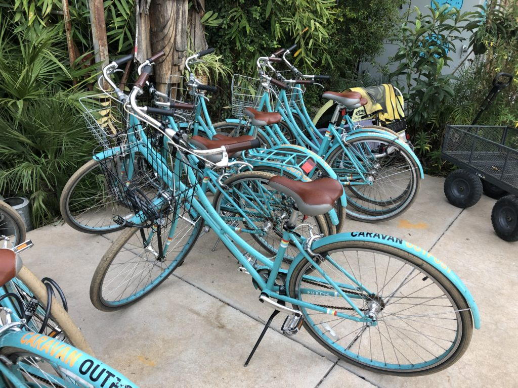 bikes at Caravan Outpost
