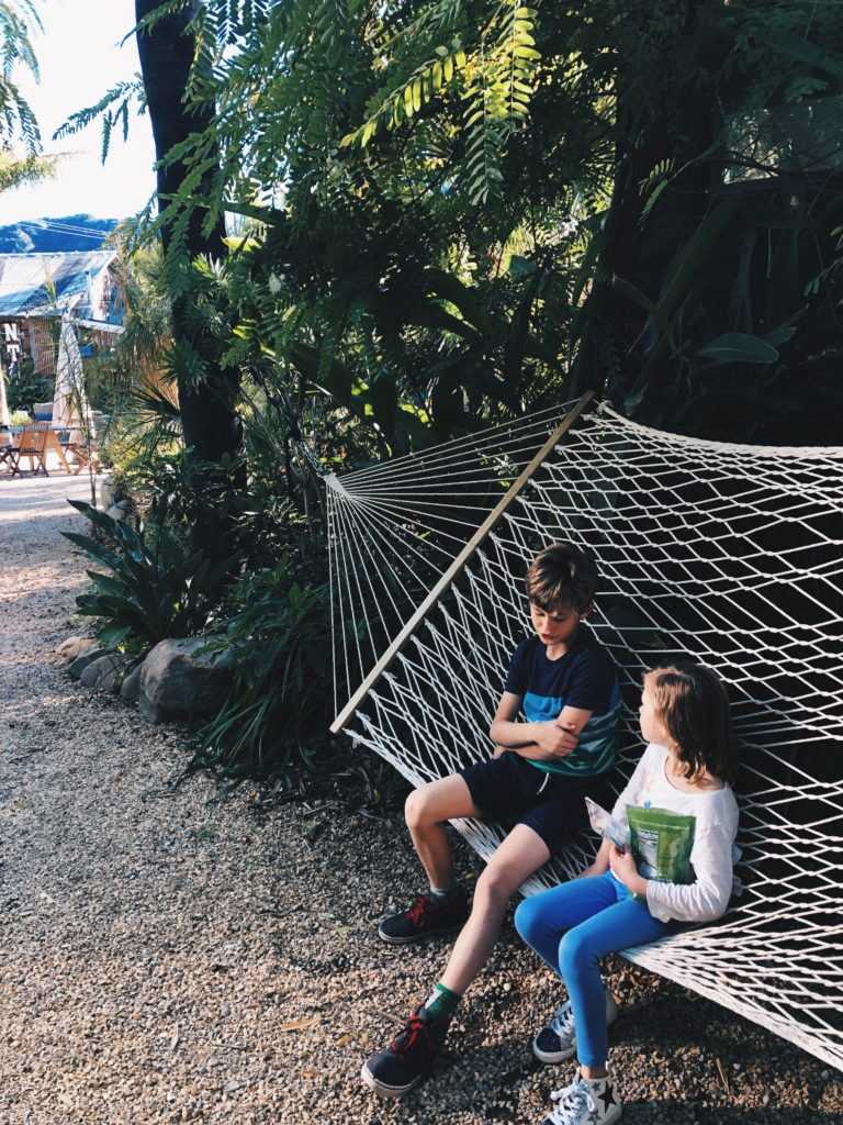 hammock at Caravan Outpost